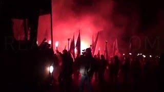 Факельное шествие во Львове - РЕАЛЬНОСТЬ.Новости