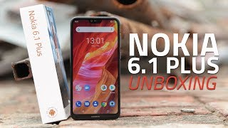 Nokia 6.1 Plus Unboxing and First Look | Price, Specs, Cameras, and More