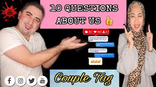 GET TO KNOW US | Q & A | INTERNATIONAL COUPLE | BİZİ TANIYIN | SORU CEVAP