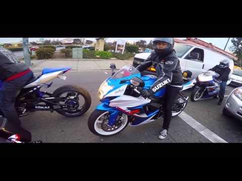 San Jose Motorcycle Ride (GoPro Hero 4 Silver)