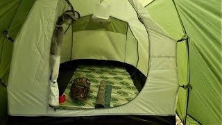 キャンプを始めた20年ほど前に買ったメッシュタープでキャンプをしよう...