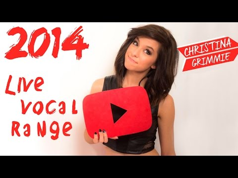 [FULL] Christina Grimmie 2014 vocal range (C3-D6)
