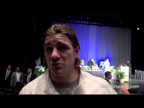Michael Mauti & Jordan Hill at the 2013 Maxwell Awards