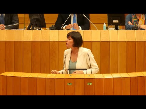 Intervención completa de Ana Pontón na sesión de investidura de Feixóo