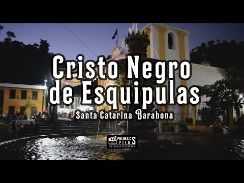 Fiesta titular de Santa Catarina Barahona en honor al Cristo Negro de Esquipulas.