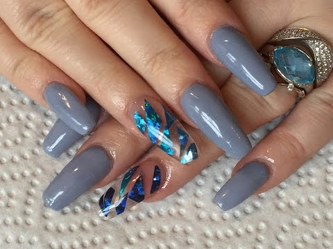 classic french acrylic nails bornpretty store water decals review. Black Bedroom Furniture Sets. Home Design Ideas