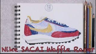 나이키 사카이 와플 레이서 / Nike SACAI Wa…