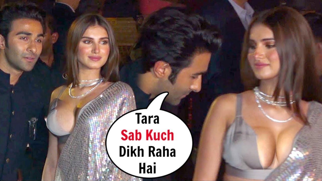Download Tara Sutaria With Boyfriend at  Diwali Party 2019
