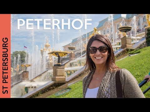 Peterhof Palace in Russia | St Petersburg 2017 (Vlog 5)