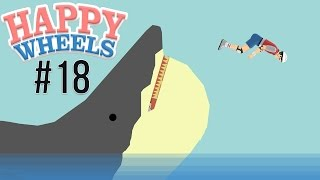 Happy Wheels - Part 18 SHARK ATTACK