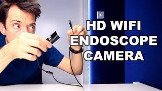 WIFI WATERPROOF ENDOSCOPE PHONE CAMERA REVIEW!!!