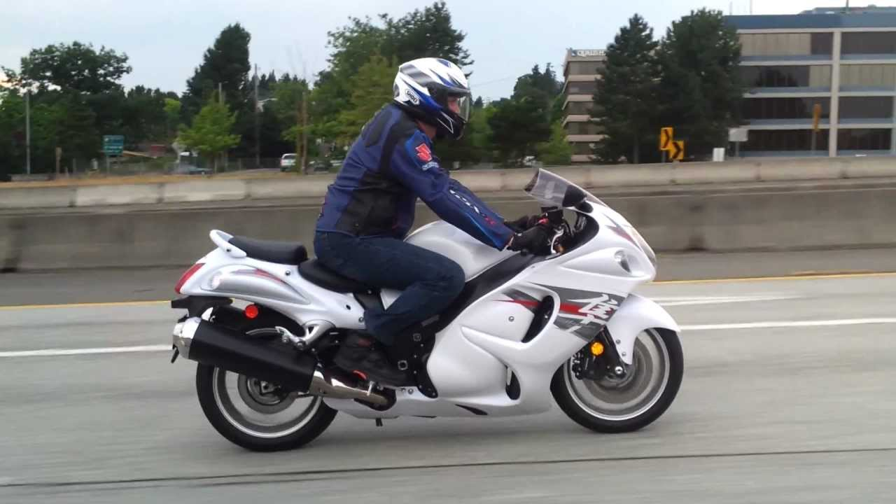 2012 Suzuki GSX-1300R Hayabusa - YouTube
