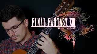 FINAL FANTASY XIII: 'Lightning's Theme' | Classical Guitar | John Oeth