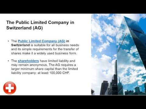 Types of Swiss Companies