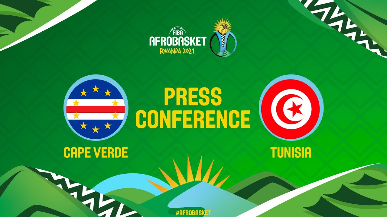 Cape Verde v Tunisia - Press Conference - FIBA AfroBasket 2021