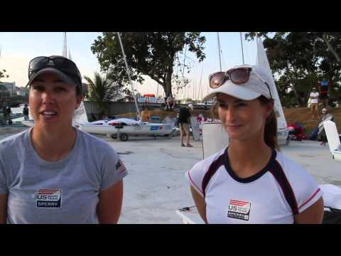 Olympic Test Event: Haeger & Provancha Defend Position on Day 2
