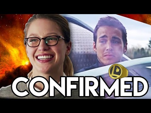 Legion of Superheroes CONFIRMED! - Supergirl Season 3 Mon-El Returns Explained