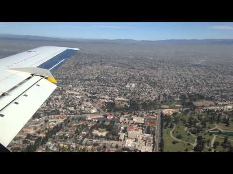 United Express SkyWest 5314 Embraer EMB-120 Santa Barbara - Los Angeles Landing with LiveATC 1080HD