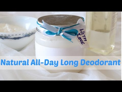 Smell Good All Day with this Homemade DIY Deodorant | Slick and Natty