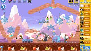 Angry Birds Friends/ SantaCoal i CandyClaus tournament, week 293/1, level 2