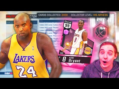 NBA 2K17 My Team PINK DIAMOND KOBE BRYANT? HOW MUCH FURTHER? 2400+ CARD COLLECTION FULL UPDATE!