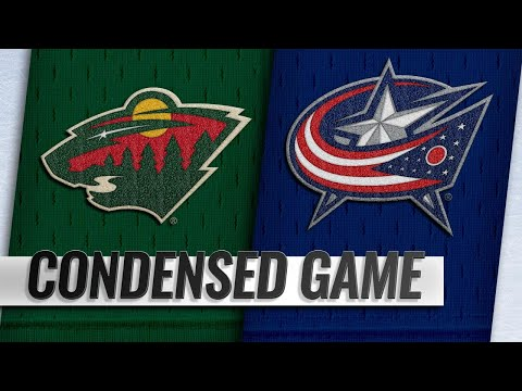 11/29/18 Condensed Game: Wild @ Blue Jackets