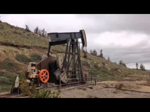 Wyoming pump jack
