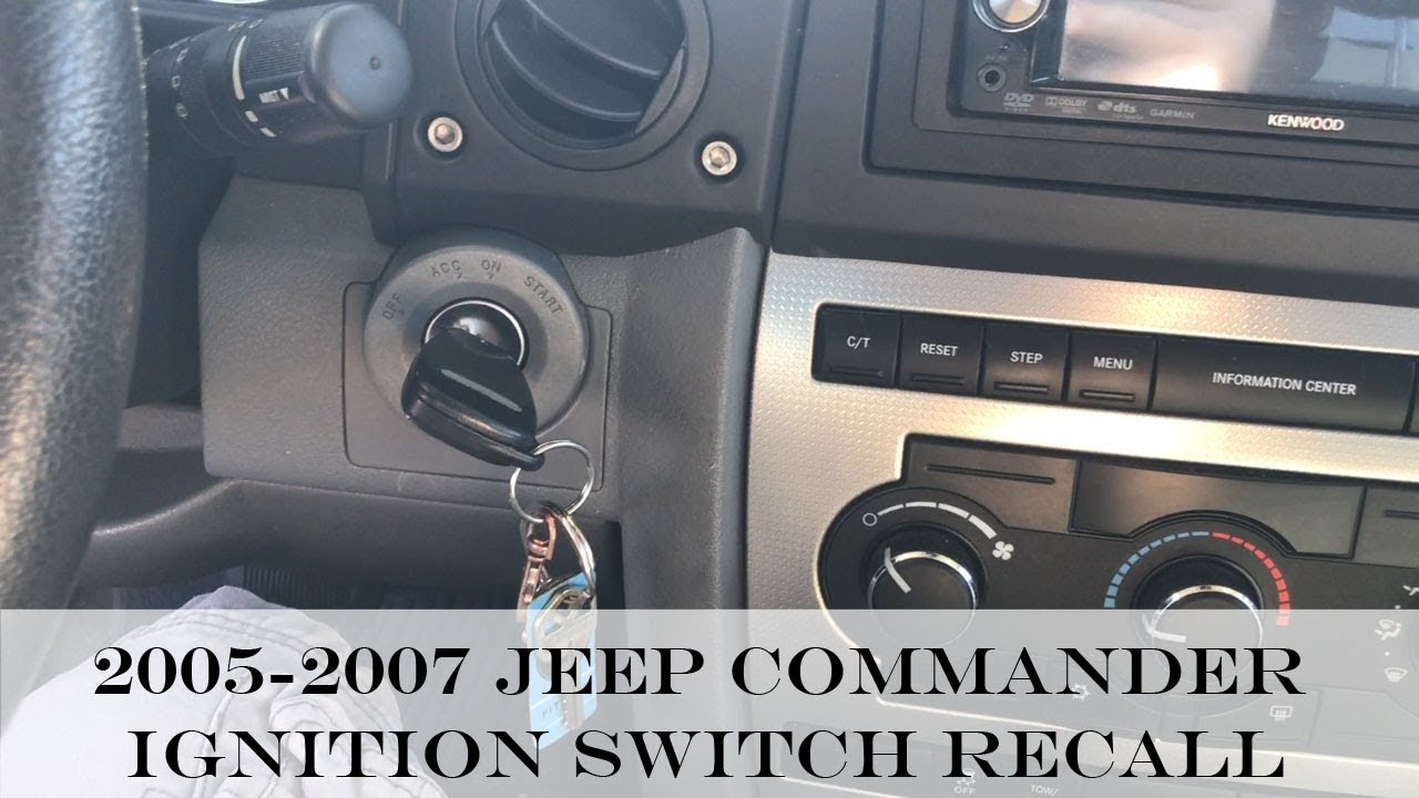 2007 Jeep Commander Do You Have Ignition Problems Help Is Here