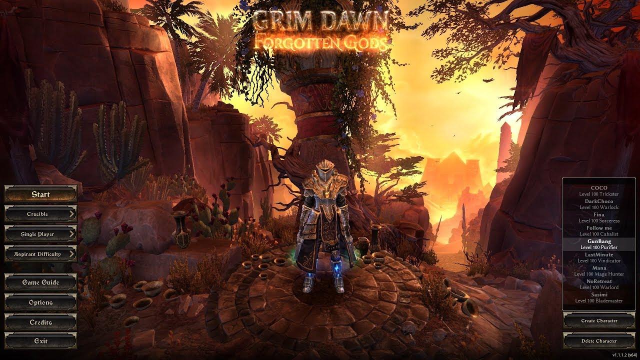 [Grim Dawn - FG] Dual Pistol Purifier