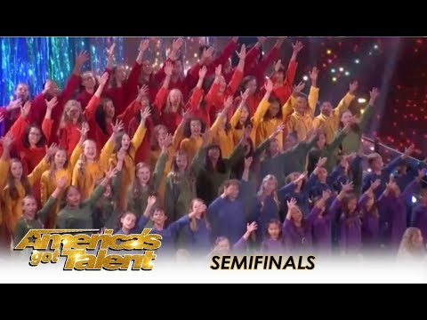 Voices Of Hope Choir: Simon Cowell PLEADS With America To Vote For Them | America's Got Talent 2018