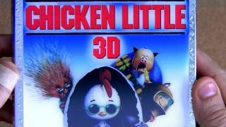 Disney Chicken Little 3d Blu Ray Unboxing Review