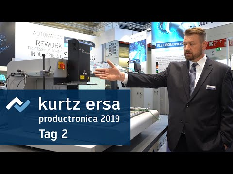 Ersa Productronica TV 2019 – Tag 2 – Industrie 4.0 + Automation + HR 550 XL