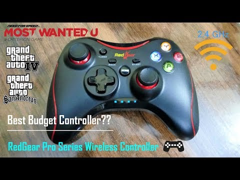 Best Budget (RedGear Pro Series) Wireless GamePad For PC And Android | Review With Gameplay