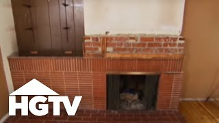 Todd Davis helps a couple solve the problem of an awkward fireplace. This video is part of Over Your Head show hosted by Todd