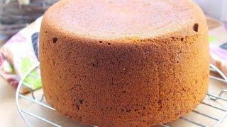 Медовый бисквит из мультиварки  Рецепт торта