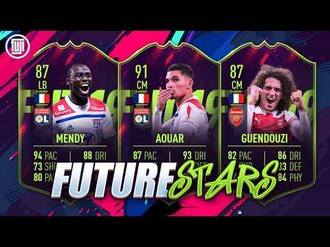 FUTURE STARS! 91 AOUAR, 87 GUENDOUZI & 87 MENDY! - FIFA 19 Ultimate Team thumbnail