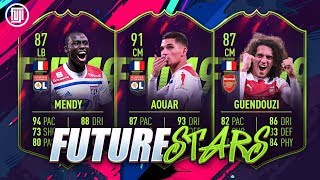 FUTURE STARS! 91 AOUAR, 87 GUENDOUZI & 87 MENDY! - FIFA 19 Ultimate Team