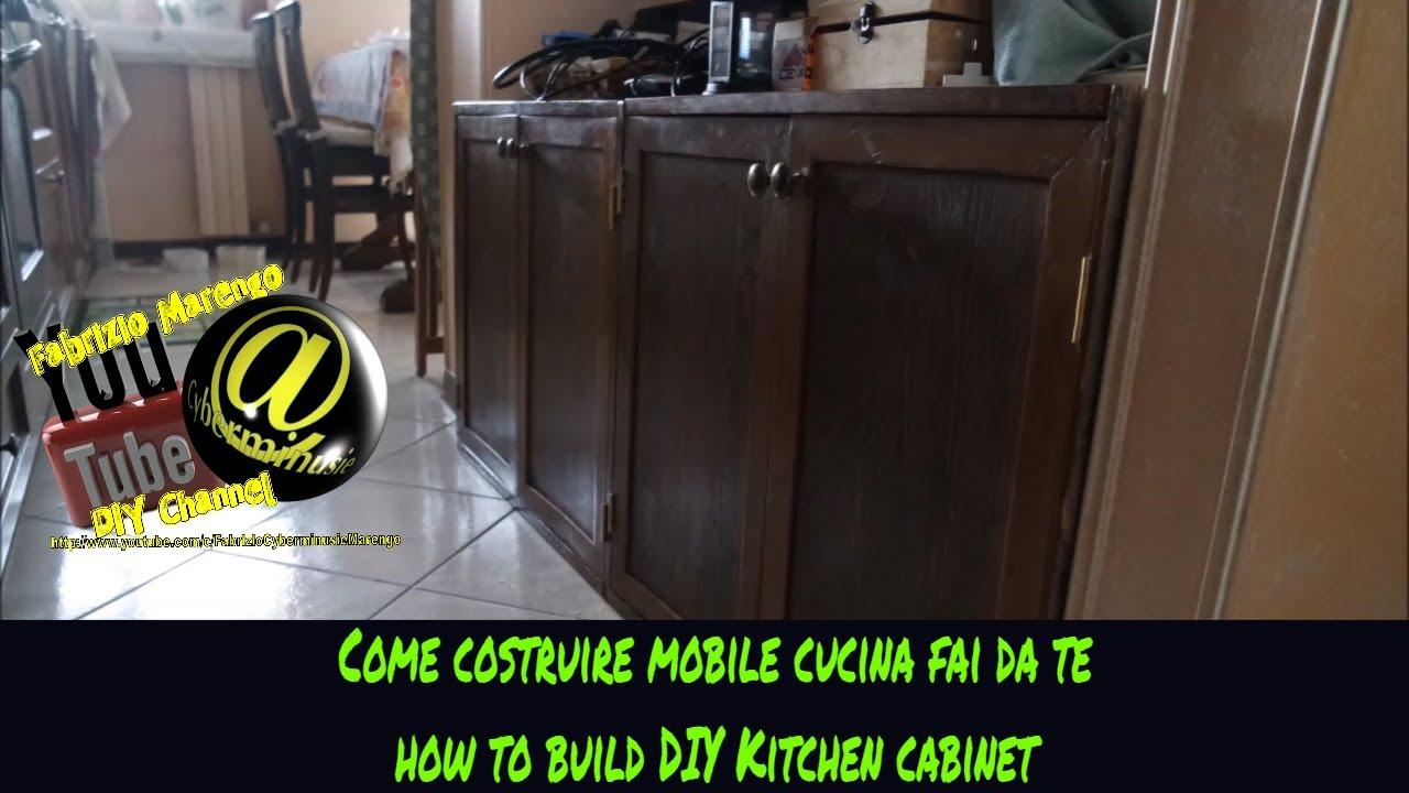 Costruire Una Cucina In Legno Fai Da Te | Come Costruire Una Cucina ...