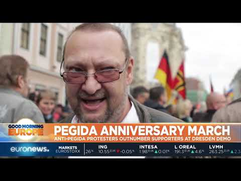 #GME | Anti-Pegida protestors outnumber supporters at Dresden demostrations