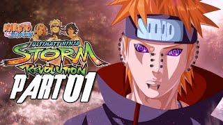 Naruto Shippuden: Ultimate Ninja Storm Revolution - Walkthrough Part 1, Gameplay Xbox 360