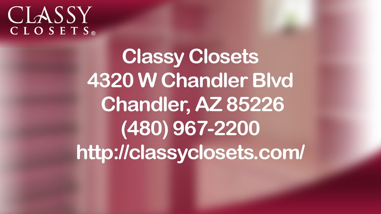 Charmant Classy Closets   Reviews   Chandler, Arizona   Storage   YouTube