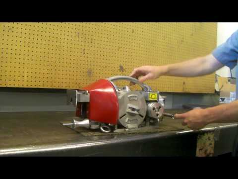 How To Set Up The Eagle Cable Lasher For Overhead Line Work