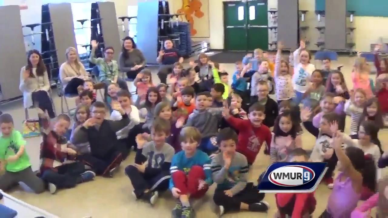 School Visit Matthew Thornton Elementary In Londonderry Youtube