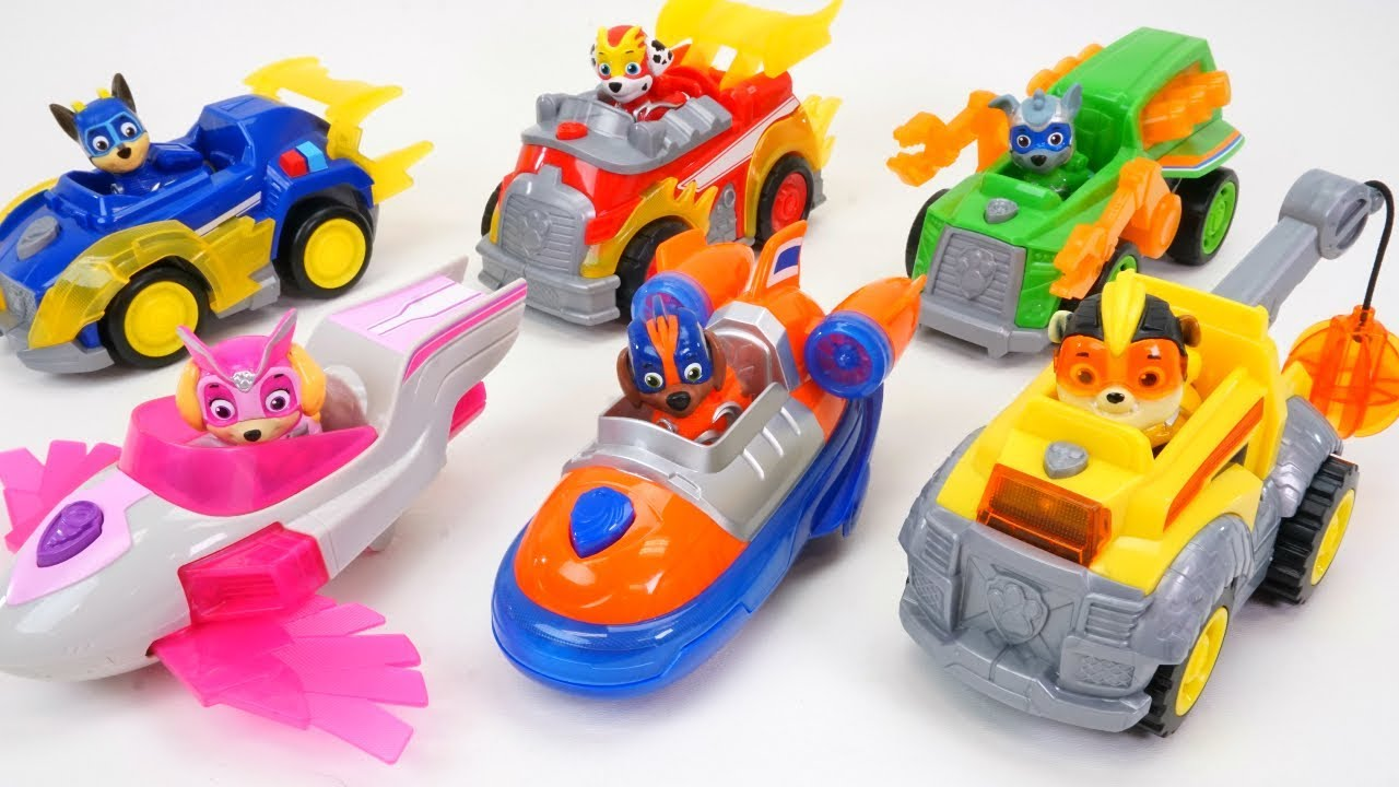 Match Paw Patrol Pups to Their Rescue Vehicles - YouTube   Cars Paw Patrol Pups