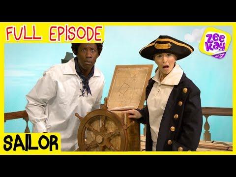 Let's Play: Sailor | FULL EPISODE | ZeeKay Junior