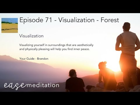 EASE GUIDED MEDITATION - Visualize Yourself in a Forest
