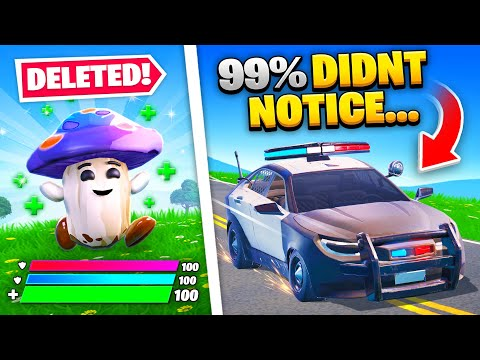 10 Things SECRETLY REMOVED From Fortnite - Top5Gaming