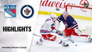 NHL Highlights | Rangers @ Jets 02/11/20