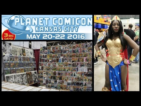 Planet ComiCon 2016 Walkthrough Tour PART 1 - Comic Book and Entertainment Convention - Kansas City