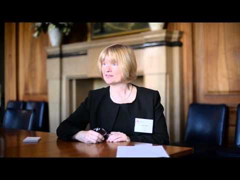 Dr Louise Makin, CEO of BTG plc., interview at UWE Bristol